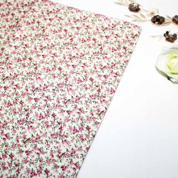 Splash Flower Cotton Printed