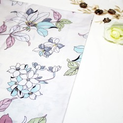 Pencil Color Flower Cotton Printed