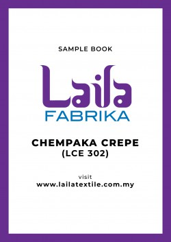 Chempaka Crepe Sample Book