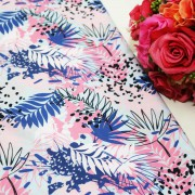 Beauty Of Flora Polycrepe Printed