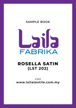 Rosella Satin Sample Book