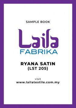 Ryana Satin Sample Book