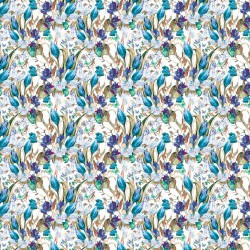 Grand Flower Printed Rosella