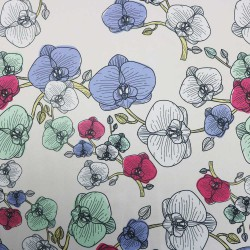 Flower Patch Printed Rosella