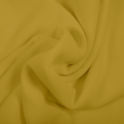Oil Yellow Chiffon Georgette