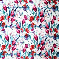 Mixed Roses Printed Rosella
