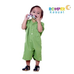 Baby Romper Lime Green