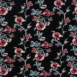 Scatter Flora Rayon Printed